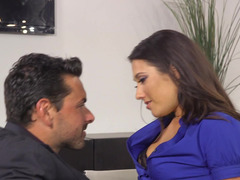 Nice Latina that enjoys attention is fucking in the office