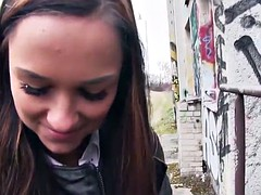 Public Pick Ups - Hot Euro Chick's Round Ass starring  Victo