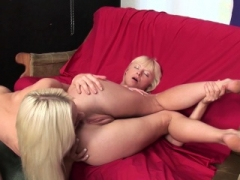 Hot Russian blondes partake in some butthole licking