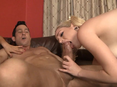 A pair of sexy corrupted babes are in a three-way, riding a big hard cum cannon