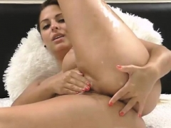 Girls getting their pussies and asses finger fucked