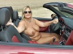 Nude cruise with my Cabrio