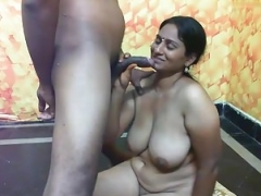 Indian hoe with big tits having sex PART-5