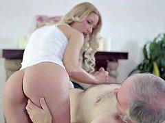 Grandpa too loves his granddaughter