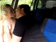 Sweet Blonde 18-19 y.o. Gets Drivers Lesson