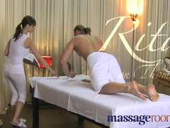 Rubdown Apartments Innate immense jugs masseur offers off the hook time