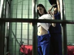 Jail lesbians fingering and plus pussylicking