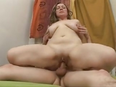 Plumpish Old Anal Fucked