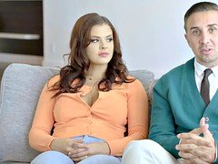 Suburban couple adopts a pornstar to spice up their marriage