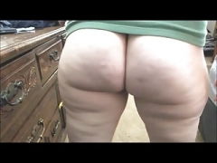 PAWG juicy asshole farting