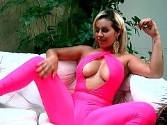 Alluring exotic Latina and besides her dildo
