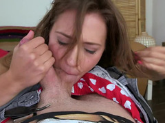 Unrepeatable homemade Pov section with amateur Callie Calypso