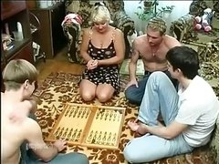Aged Wife Gang-fucked