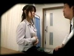Voyeur cam Schoolgirl misused by Doctor 3