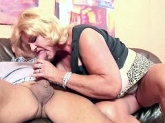 Monster Hooter Granny makes love Big Knob Grandpa in Casting