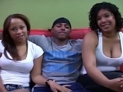 Latina Mates in Number one threesome