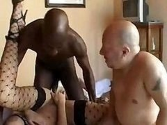 Dirty Prostitute Bites Hungry Dudes' Long Pricks To Get Them Actual Hard