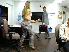 Splendid Big tits Eager mom In Office