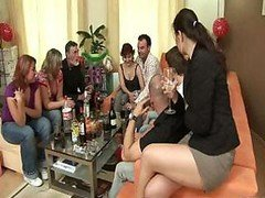 Small Group sex In The Flat