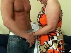 Grown-up housewife gets nailed by an less aged fella