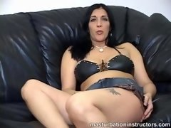 Jack off your small cock with jack off teacher for simple orgasm