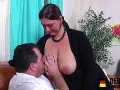Classic and fresh German porn with busty bitches