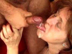 Slightly fat Mature Blows off and plus Rides Purple rod