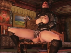 3D Queen of darkness summoned for herself a Aroused to have an intercourse he
