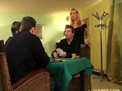 Elsa Kryss  HouseWife fucked by a pair of Husband Buddies