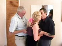 The Swinger Aged Couple With A Friend
