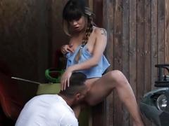Rectal sex on the farm