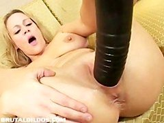 Bigtitted sexually available mom stretched by brutal dong
