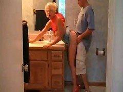 Hot Busty Blonde Soccer mom Sex In Heels