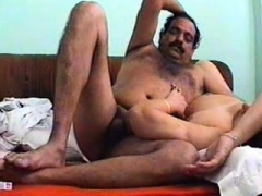 A young and fresh Indian couple has an intercourse on camera