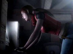 Resident Cold-blooded - Claire Redfield has a amazing Tooshie