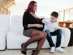 Hot moms love having young cocks up their cunts