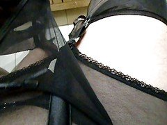 Black Stockings And additionally Nylon