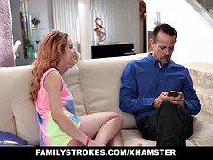 FamilyStrokes - Hot Euro Teen Seduced By Creepy Uncle