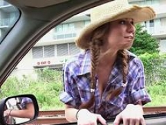 Dillion Carter gets get down and dirty in cowgirlstyle