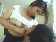 Honjou Naoko - Wife beneath milk lactation by TOM