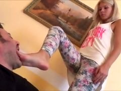 Gabriella Foot Gagging & Licking Point of view