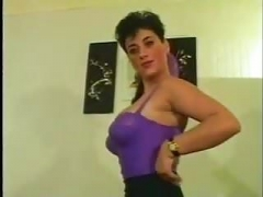 Vintage French  Elodie Saggy Boobs Anal Stockings
