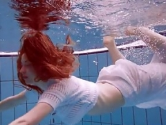 Terrific hairy underwatershow by Marketa