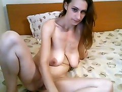 Blue Eyes and also Saggy Big Tits Fucking