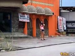 Sweet young Filipina shamelessly bangs random foreign tourist on camera