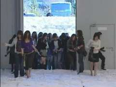 Japan sets World Record Noisily - 500 Dudes and Shrieking