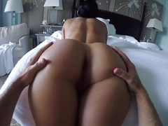 Booty play with Rene