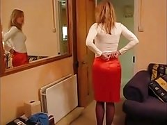 Gal In Stockings & Different Girdles