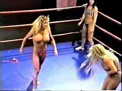 Topless Expert-like Ring Wrestling