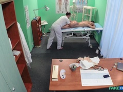 Fake Hospital (FakeHub): Nurse gets more then a massage from the doctor
